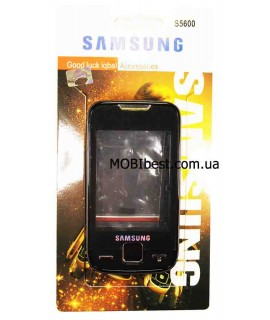 Корпус Samsung S5600 Charcoal Gray (ААА класс)